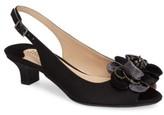 J. Renee Women's Leone Slingback Crystal Embellished Sandal