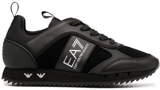 EA7 Emporio Armani Logo-Panel Low-Top Sneakers