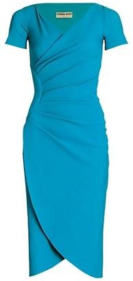 Chiara Boni Ajak Jersey Wrap Dress