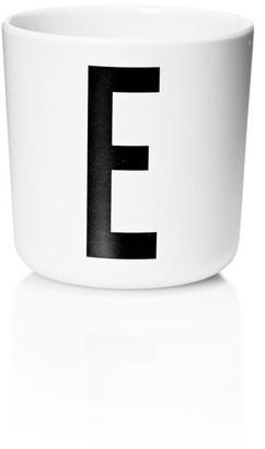 Design Letters Personal Melamine Cup - E
