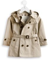 Burberry belted trench coat - kids - Cotton/Polyester - 6 mth