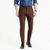 J.Crew Ludlow suit pant in herringbone windowpane English wool