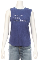 TYLER JACOBS FOR FEEL THE PIECE Stay In Your Own Lane Muscle Tee