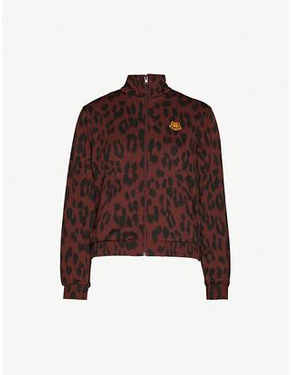 Kenzo Leopard-print jacquard jacket