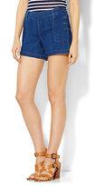 """New York & Co. Soho Jeans - Bowery 4"""" Short - Indigo Blue Wash"""