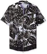 Chapter Men's ome Floral Short Sleeve Shirt