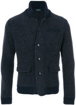 Zanone blazer cardigan - men - Alpaca/Virgin Wool - 46