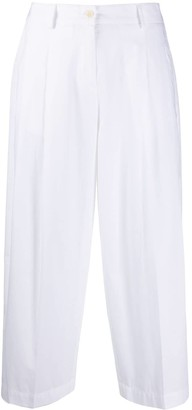 Jejia Cropped Straight-Leg Trousers