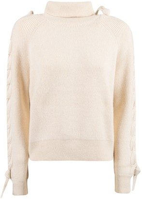 J.W.Anderson Cable Insert Turtleneck Sweater
