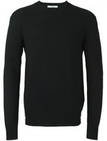 Givenchy contrast rib knitted sweater