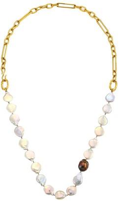 Lizzie Fortunato Harbor Goldplated & Multi-Pearl Collar Necklace