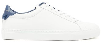 Givenchy Urban Street Low-top Leather Trainers - Womens - Navy White