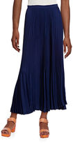 Theory Laire Pleated Maxi Skirt