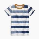 J.Crew Boys' faded striped pocket slub T-shirt