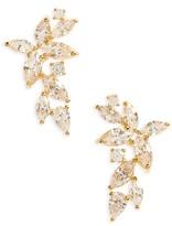 Nadri Women's Papillon Crystal Ear Crawlers