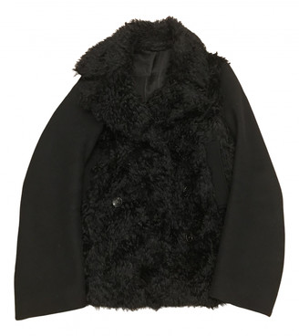 Acne Studios Black Wool Coats