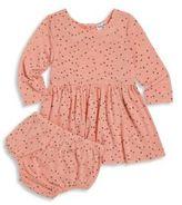 Splendid Baby's Two-Piece Star-Print Dress & Bloomers Set