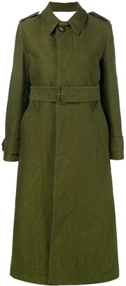 AMI Paris Women's Trench Coat