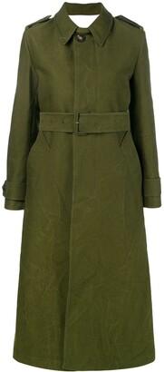 AMI Paris Women's Trench Coat