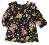 Bonpoint Baby's & Toddler's Wild Garden Printed Long-Sleeve Cotton Blouse