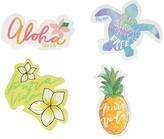 Pura Vida Sticker 4-Pack (Aloha Summer) Wallet