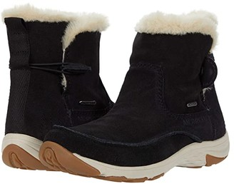 Merrell Approach Sage Pull-On Polar Waterproof (Black) Women's Shoes