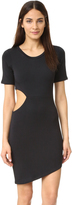 LnA Cut Out Tee Dress