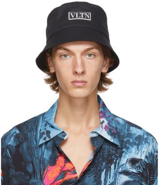 Valentino Black Garavani VLTN Bucket Hat