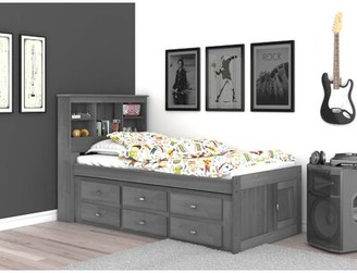 "Birch Laneâ""¢ Heritage Giulia Twin Mate's Bed with Drawers and Bookcase Birch Lanea Heritage"