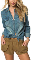 O'Neill July Long Sleeve Denim Top (Women's)