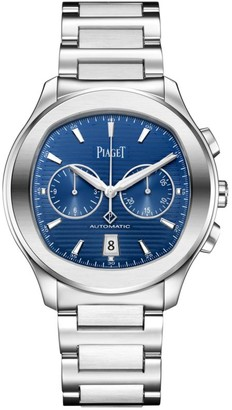 Piaget Polo S Stainless Steel Chronograph Watch