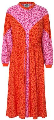 Mads Norgaard Flower Jam Dripla Dress - xs