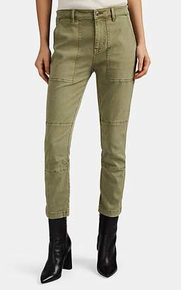 Current/Elliott Women's Weslan Lace-Up Cargo Pants - Green