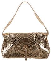 Celine Metallic Python Shoulder Bag