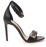 Alexander McQueen Embellished Stiletto Sandals
