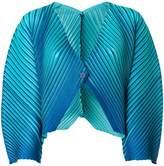 Pleats Please Issey Miyake gradient effect pleated jacket