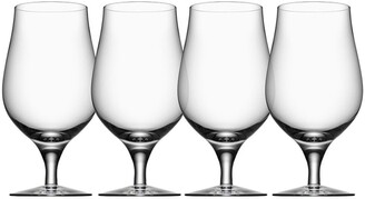 Orrefors Taster Set of 4 Beer Glasses