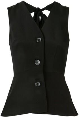 macgraw Tie Back Waistcoat
