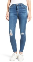 AG Jeans Women's The Farrah High Rise Ankle Skinny Jeans