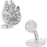 Cufflinks Inc. Men's Star Wars Millenium Falcon Blueprint Cufflinks