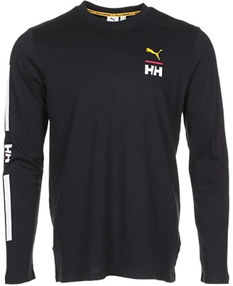 Puma X Helly Hansen Long Sleeve Tee Black) Men's Clothing