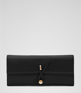 Reiss Avanti LEATHER PURSE