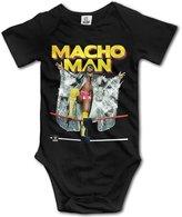 LOMO88 Baby Boys Girls REIGNS WWE SUMMER SLAM 2016 MACHO MAN Romper Bodysuit Onesie