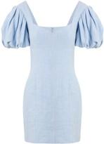 Bec & Bridge Anika bubble-sleeve mini dress