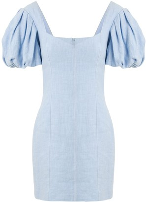 Bec & Bridge Anika bubble-sleeve mini dress