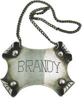 One Kings Lane Vintage Silver Brandy Decanter Label