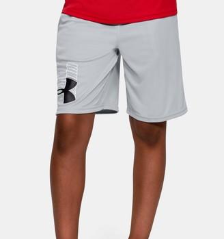 Under Armour Boys' UA Prototype Logo Shorts