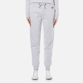 Kenzo Women's Tiger Crest Light Brushed Molleton Trackpants Light Grey