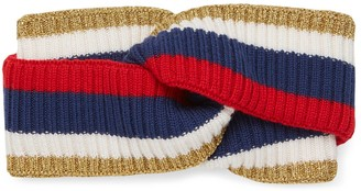 Gucci Sylvie Web wool headband