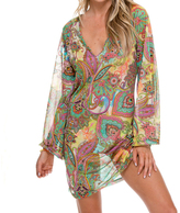 Luli Fama Boheme Tunic In Multicolor (L511853)